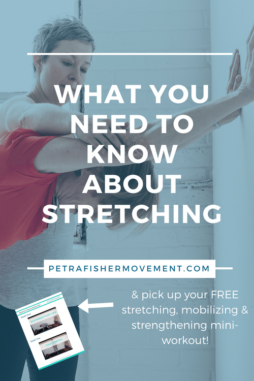 what you need to know about stretching
