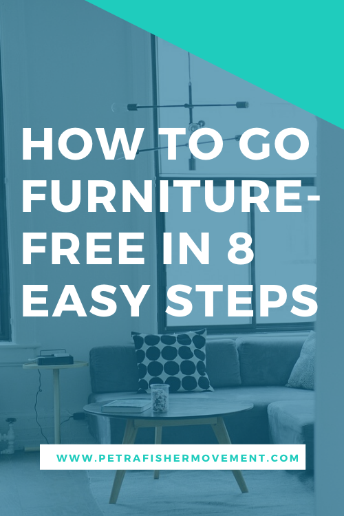 Learn why furniture free is your secret weapon to health and fitness, and how to make the change.